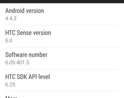 HTC One is now receiving Android 4.4.3 in Europe