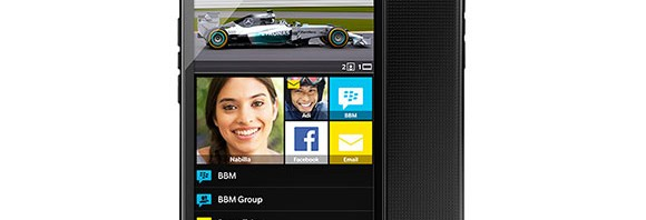 BlackBerry Z3 is coming to Singapore