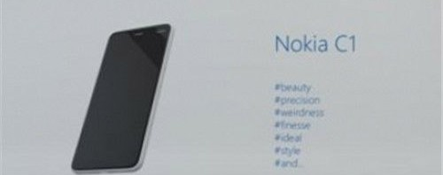 Nokia C1 is the company's first post-Microsoft Android phone