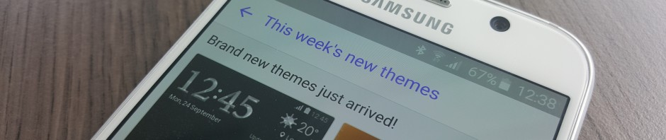 Themes Thursday: Ten new themes launched in the Samsung Theme Store today