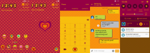 Samsung releases seven new themes in the theme store today