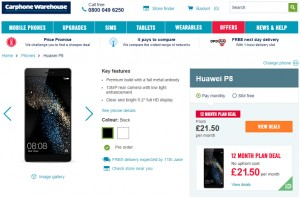 Uk pre-orders are now open for huawei p8