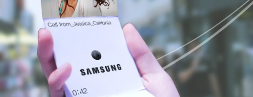 Samsung patent hints at foldable display for future Galaxy Note handsets