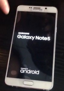 Leaked photos show off galaxy note 5 and galaxy s6 edge+ boot screens