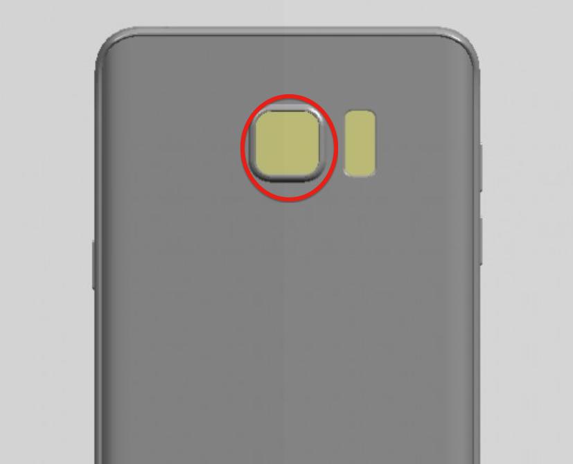 Note 5 rear camera