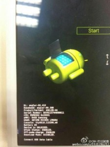Huawei nexus bootloader screen reveals s810 chipset, 3gb of ram