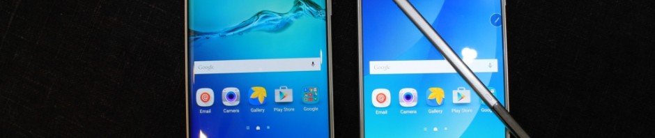 Galaxy Note 5 vs. Galaxy S6 edge+ vs. Galaxy S6 edge vs. Galaxy S6