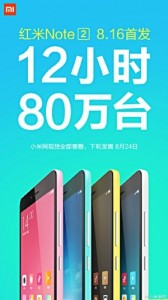 Xiaomi sells record-breaking 800k redmi note 2 units in 12 hours