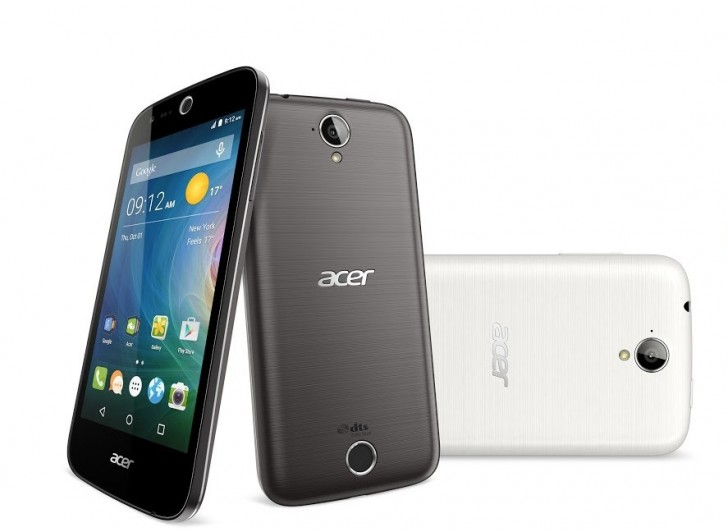 Acer added three new android phones and a windows 10 one to its portfolio