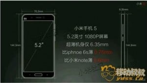 Leaked xiaomi mi 5 launch presentation tells us almost everything