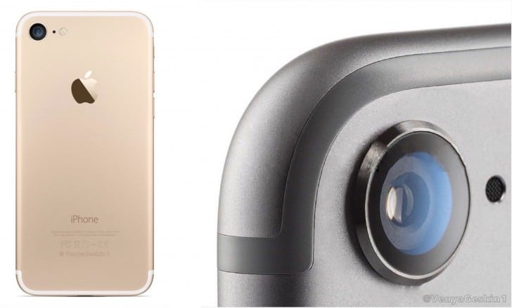 Alleged drawings of the iphone 7 show repositioned antenna lines and a larger rear camera