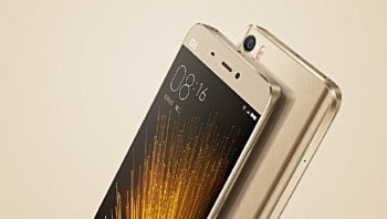 Xiaomi Mi 5 Gold and Pink Edition to be available for purchase starting April 29