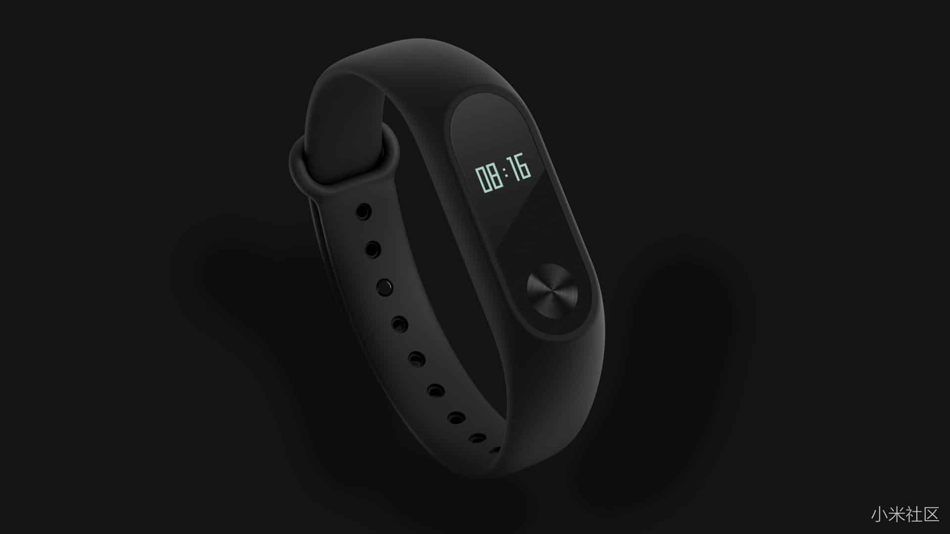 Mi band 2 with oled display and new design to lunch at june 7 for