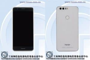 Honor 8 passes through tenaa