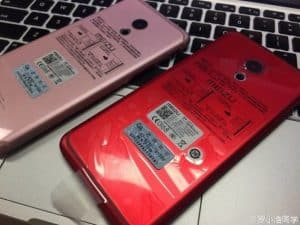 Meizu pro 6 gets red and pink paintjobs