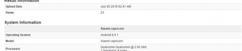 Mi Note 2 Capricorn spotted on Geekbench with 3GB of RAM & SD820