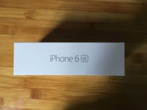 Iphone 6 se box leacked