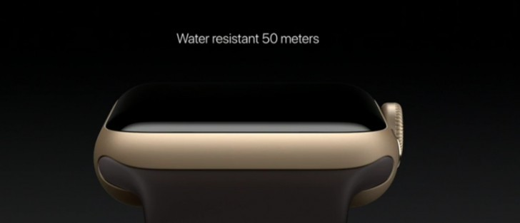 Apple watch  2 with gps and 50m water resistance