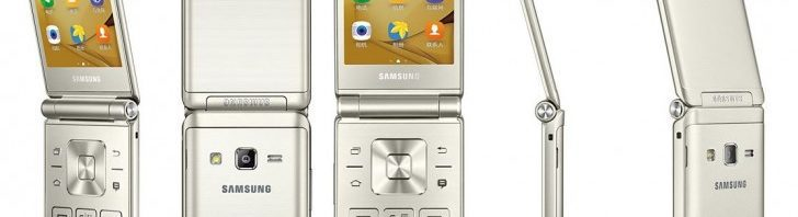 Samsung Galaxy Folder 2 images in press leaks