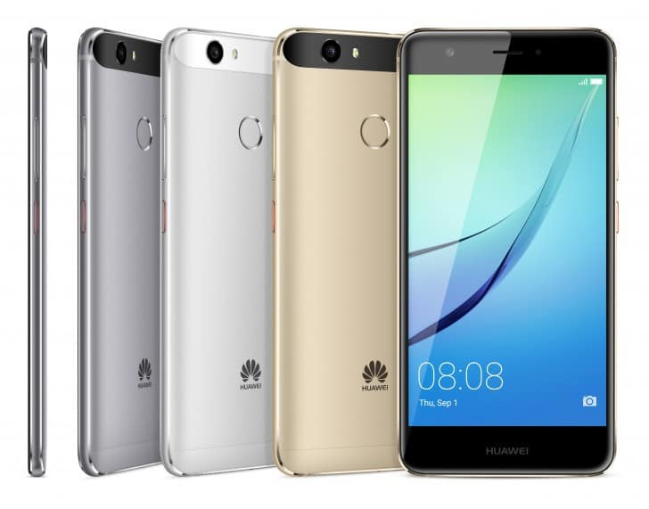 New smartphone from huawei – nova, nova plus and mediapad m3