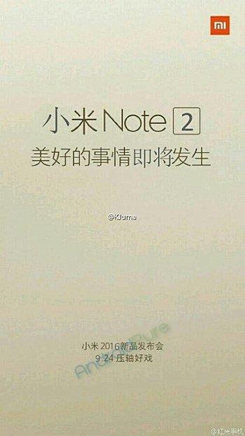 Mi Note 22