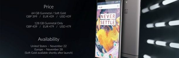 OnePlus 3T will be cheaper in China?