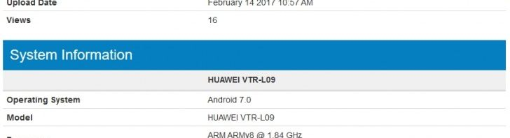 Huawei P10 spotted