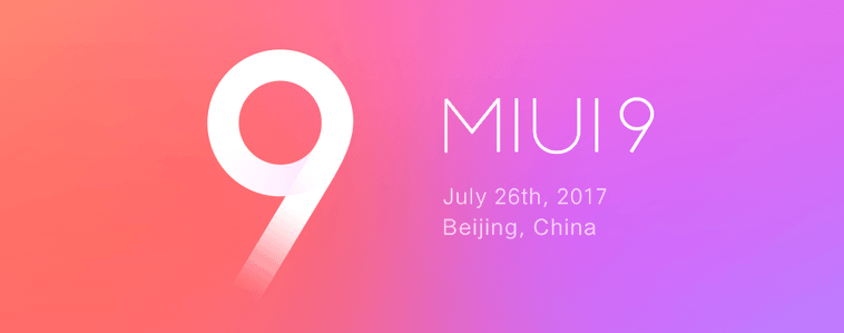 Look new miui 9 – themes, new lock display, split-screen, cleared rom