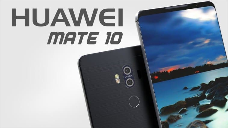 Huawei mate 10 concept is looking quite amazing