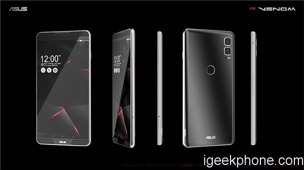 Asus z3 venom phone with 8gb of ram, plus sd 845 and 5,000mah battery
