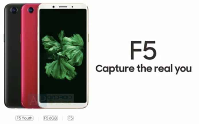 Oppo f5 3 variants confirmed: f5, f5 youth and f5 6gb
