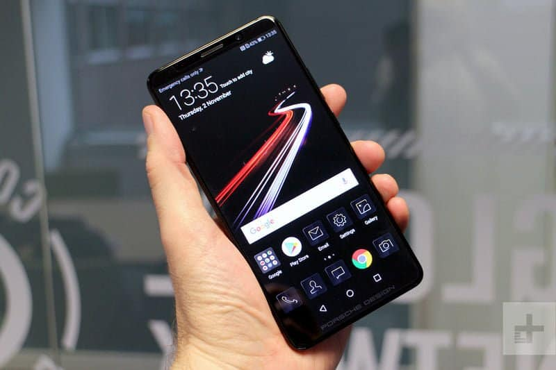 Huawei mate 20 pro could sport dual edge curved oled display