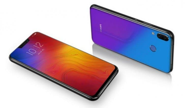 Lenovo z5 aurora color variant will go on sale in china on july 17