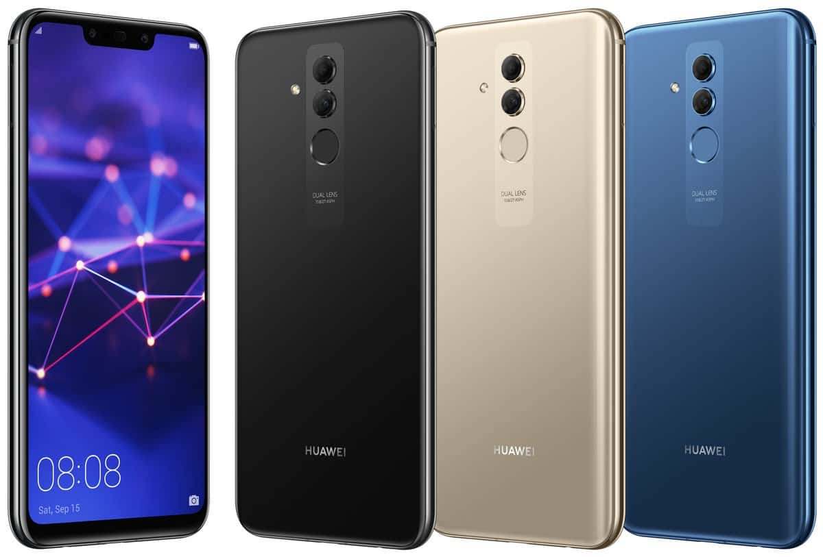 Huawei mate 20 lite colour versions unveiled in new leak