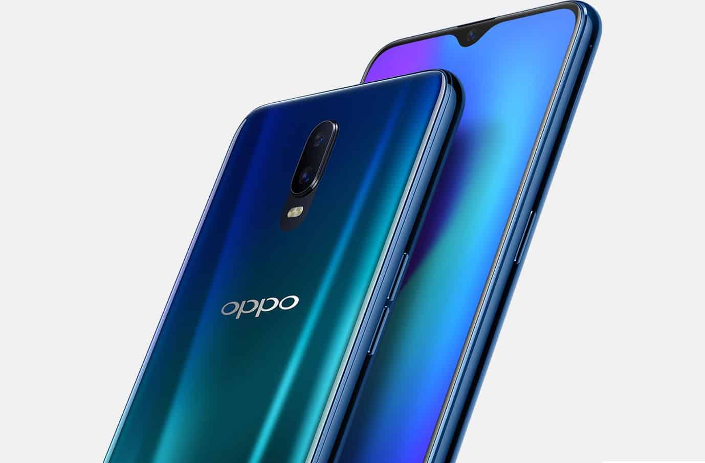 Oppo r17 is official with 6.4-inch water drop present, in-display fingerprint sensor and 8 gb ram