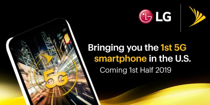 Lg to bring its initial 5g phone in h1 2019