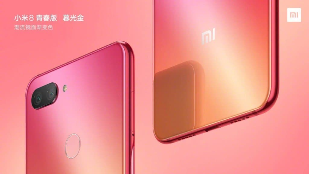 Xiaomi mi 8 youth and mi 8 panel fingerprint rumor roundup: specifications, options and pricing
