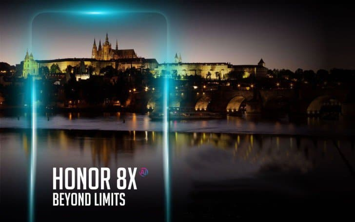 Honor 8x to launch in europe on october 11