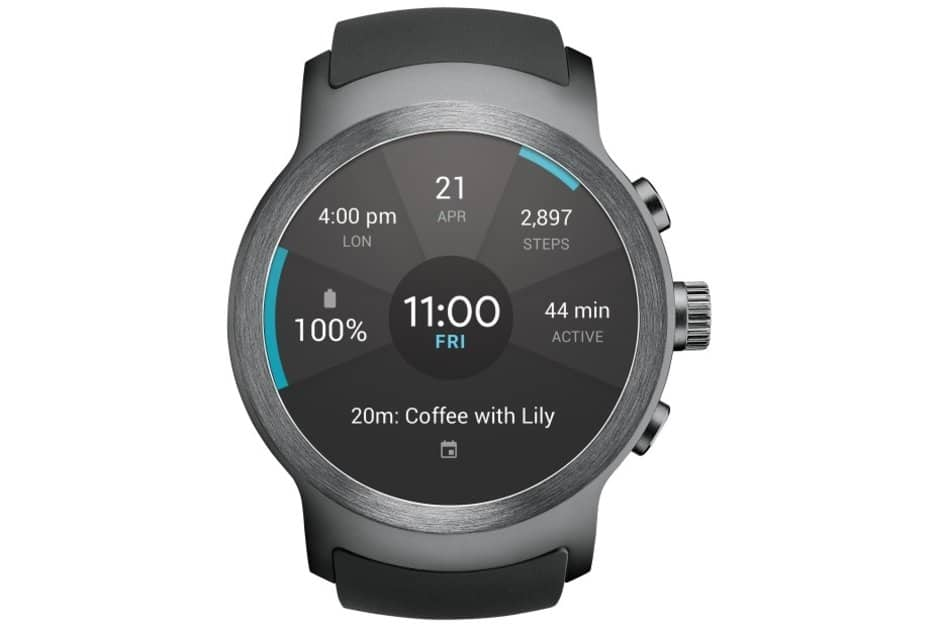 Lg watch w7 tipped to first public appearance with lg v40 thinq