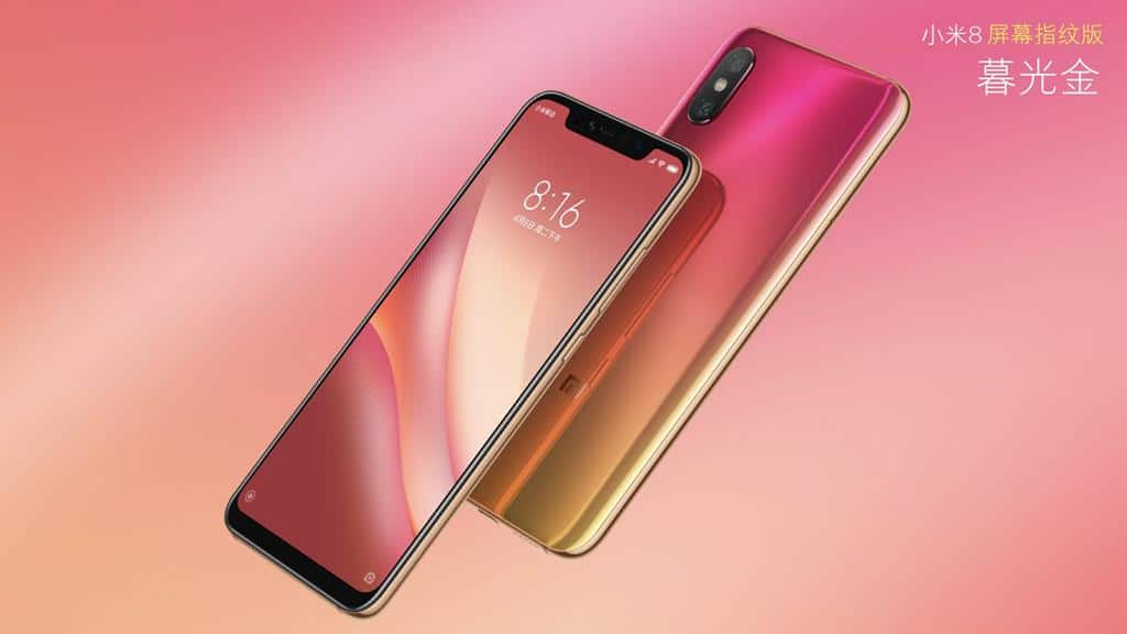 "Xiaomi mi 8 pro with ""screen fingerprint"" unveiled, starts at 7"