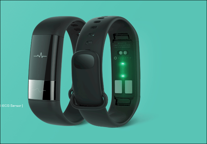 Huami's amazfit health band 1s with continuous heart rate monitor, ecg sensor launched