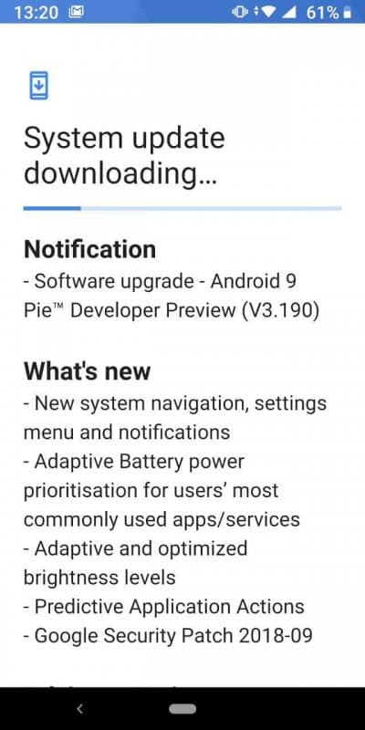 Nokia 7 plus gets android pie beta improve rather of stable launch