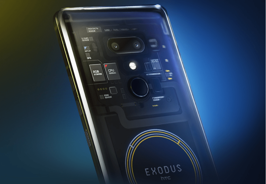 Htc exodus 1 blockchain phone is official: 6-inch panel, sd845, quad cameras & 0.15 bitcoin price tag tag