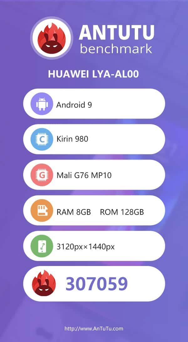 Huawei mate 20 pro antutu scores surpass 300k mark