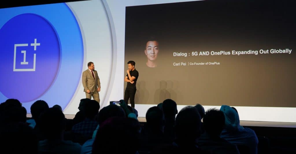 Carl pei says oneplus will release a 5g flagship smartphone upcoming year