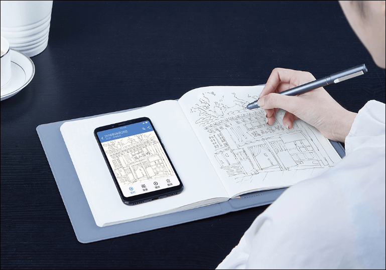 Xiaomi crowdfunds the 36notes smart handwritten notepad offered at 249 yuan (~)