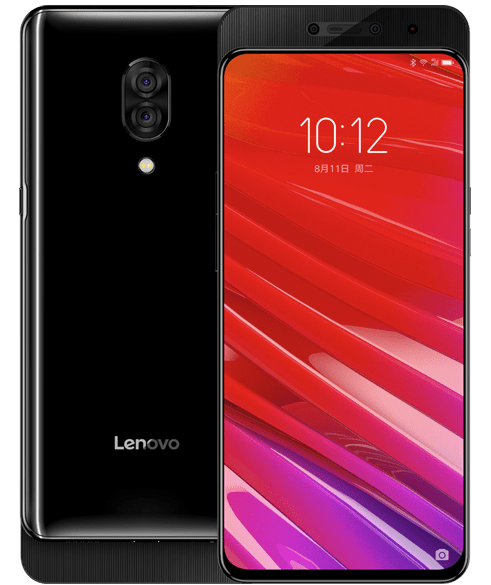 Lenovo z5 pro slider design and style phone with show fingerprint reader, quad cameras, sd 710 is official