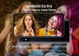 UMIDIGI S3 Pro with a 48MP Sony IMX586 digital camera to slug it out with the Nova 4