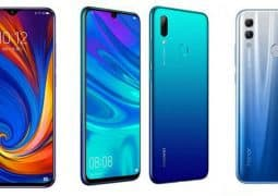Lenovo Z5s vs Huawei P Smart (2019) vs Honor 10 Lite