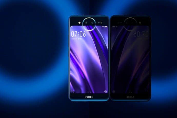 Vivo nex 2 is release date set on december 12, options dual displays and triple cameras